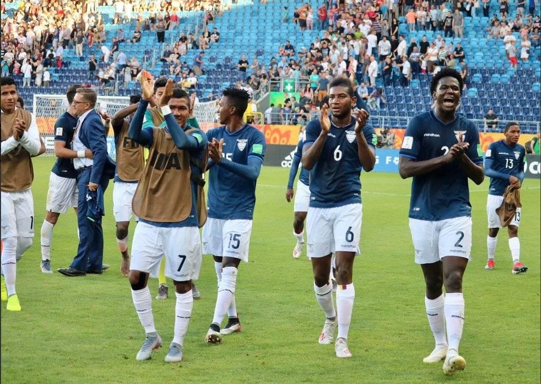 Ecuador Sub 20 a cuartos de final FEF