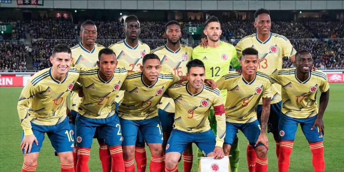 James, Cuadrado y Falcao: el tridente de Queiroz contra Perú