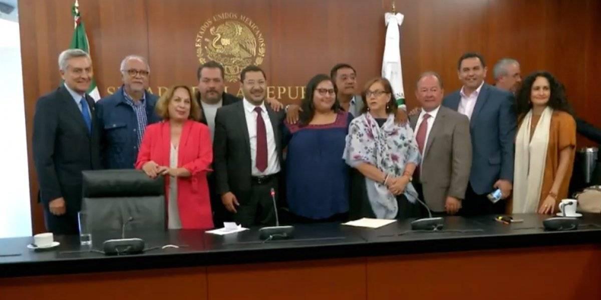 'No sospecho de nadie', asegura Citlalli Hernández sobre libro bomba