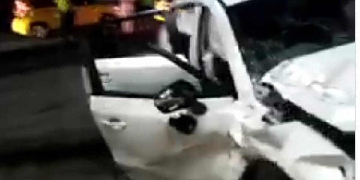 Menor presuntamente borracho causó un accidente en Cali; dos muertos