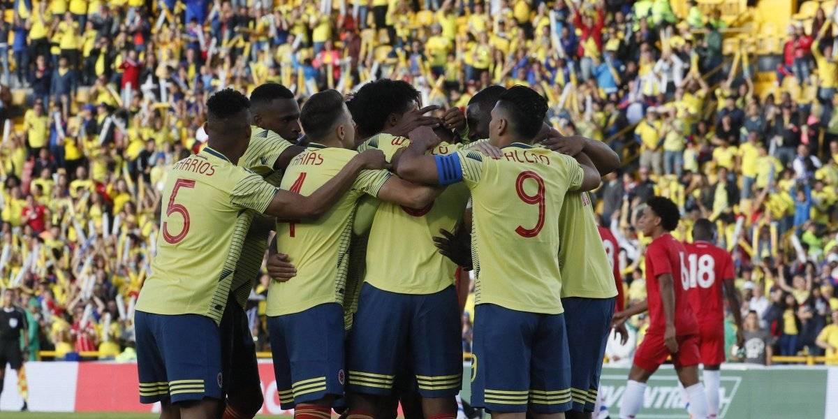 ¡Confiamos en ustedes! Colombia se despidió del país con una goleada ante Panamá
