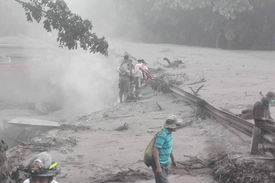 Tragedia del volcán
