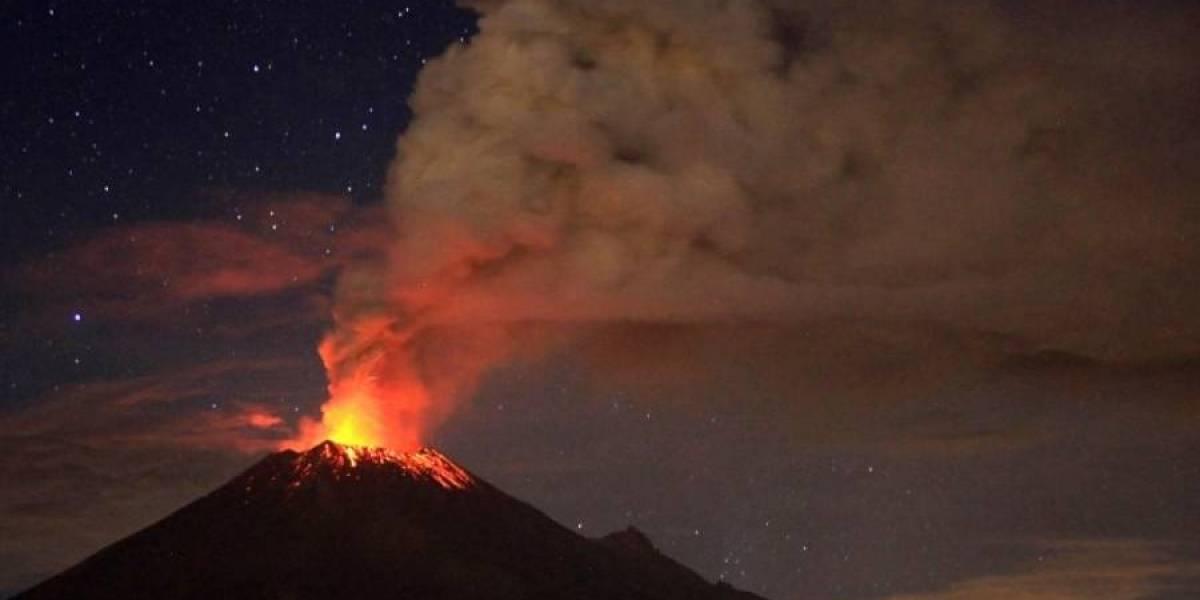 Roban equipo para monitorear el volcán de Fuego al Insivumeh