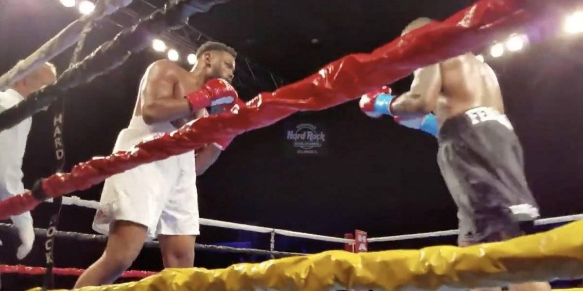 VIDEO: Impresionante doble 'nocaut' entre boxeadores semi pesados