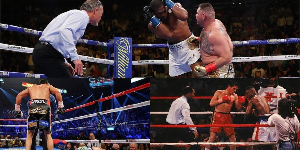 VIDEO: Grandes hazañas en la historia del boxeo mundial