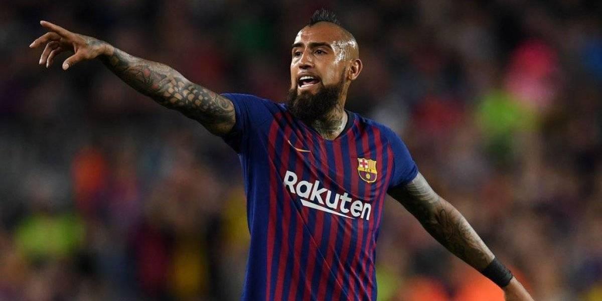 Cambio drástico: la extraña nueva camiseta de Barcelona que lucirá Arturo Vidal
