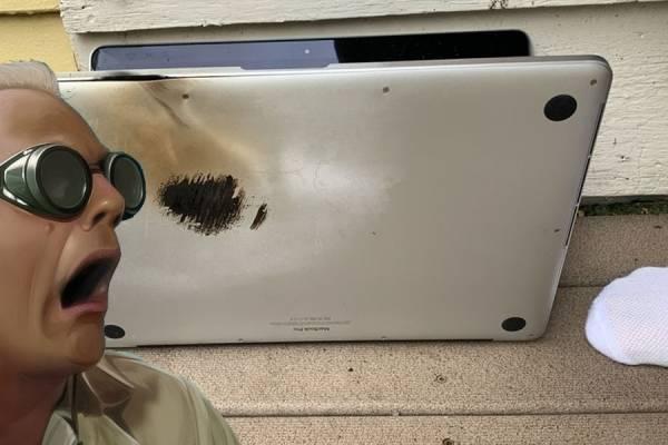 Resultado de imagen para Macbook pro incendiada