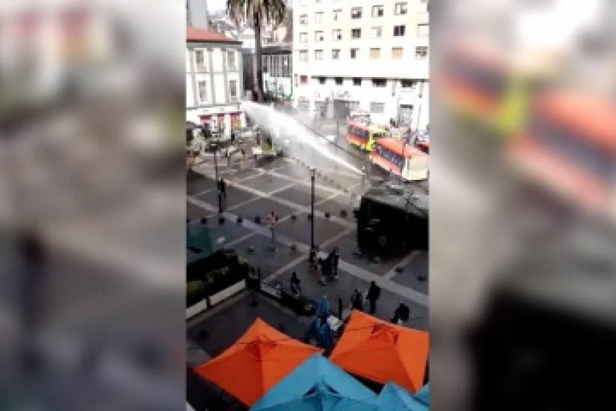 Resultado de imagen para incidentes profesores valparaiso