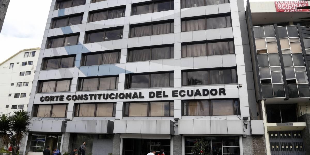 Gobierno pide a la Corte Constitucional revisar artículo del COIP