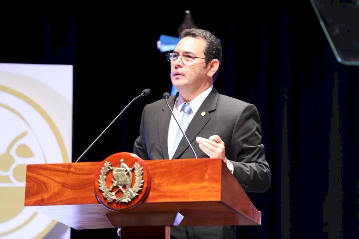 Sandra Torres exige al presidente Jimmy Morales no firmar ningún acuerdo con EE. UU. Foto: Gobierno de Guatemala