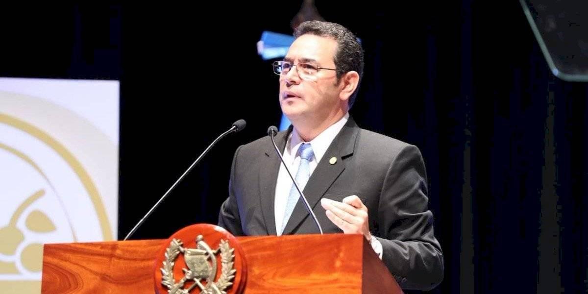 Presidente Morales responde a petición del candidato Estuardo Galdámez