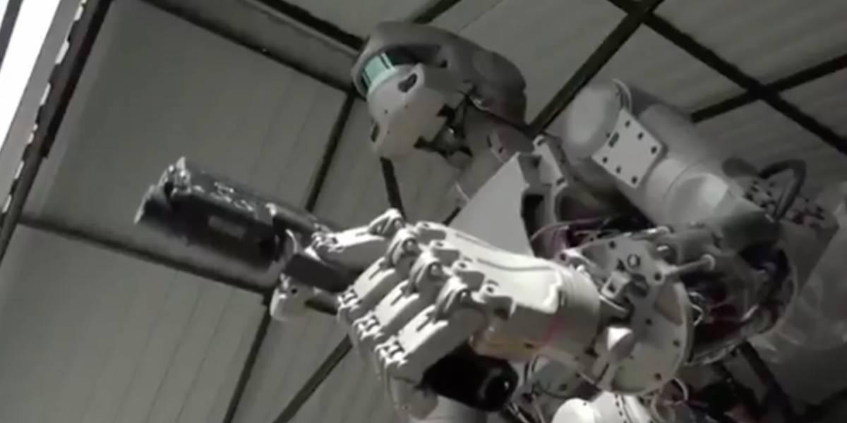 Rusiaenviará un robot humanoide a la Estación Espacial Internacional