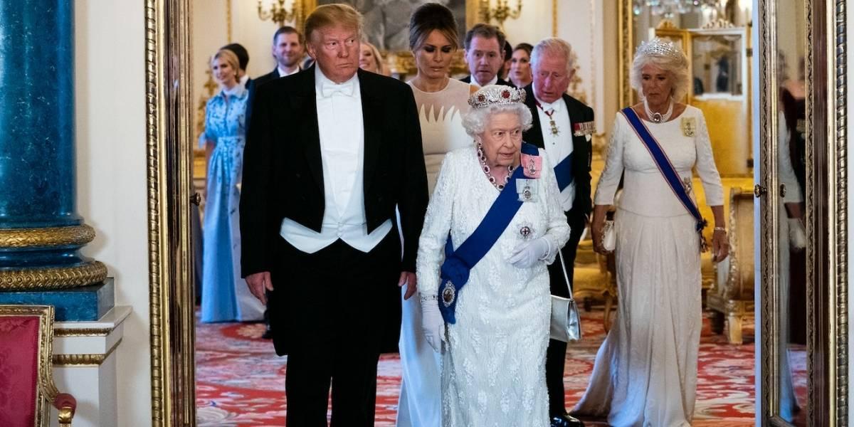 En directo: Arranca la cena de Estado con la Reina Isabel y el presidente Trump