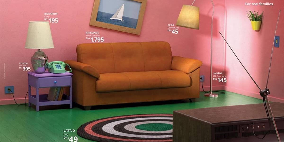 Ikea recrea los living de tus series favoritas