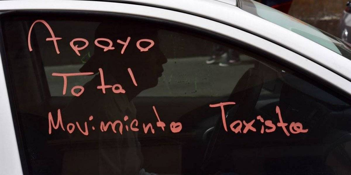 Taxistas amagan con más manifestaciones si no hay acuerdos