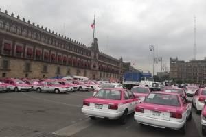 Concentración taxistas