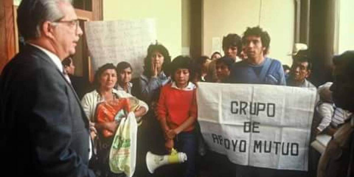 Grupo de Apoyo Mutuo cumple 35 años de buscar justicia para los desaparecidos