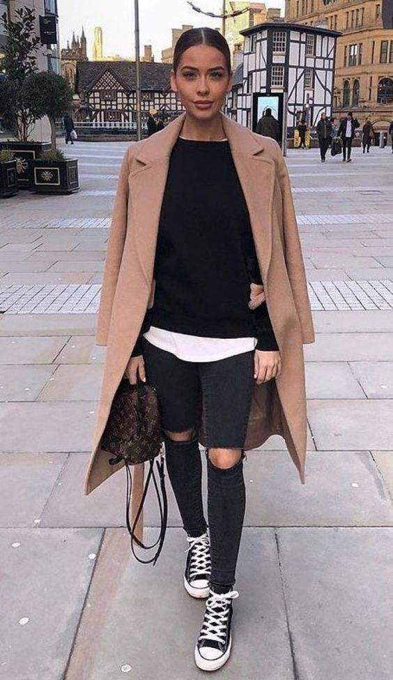 outfit para lluvia mujer 2019