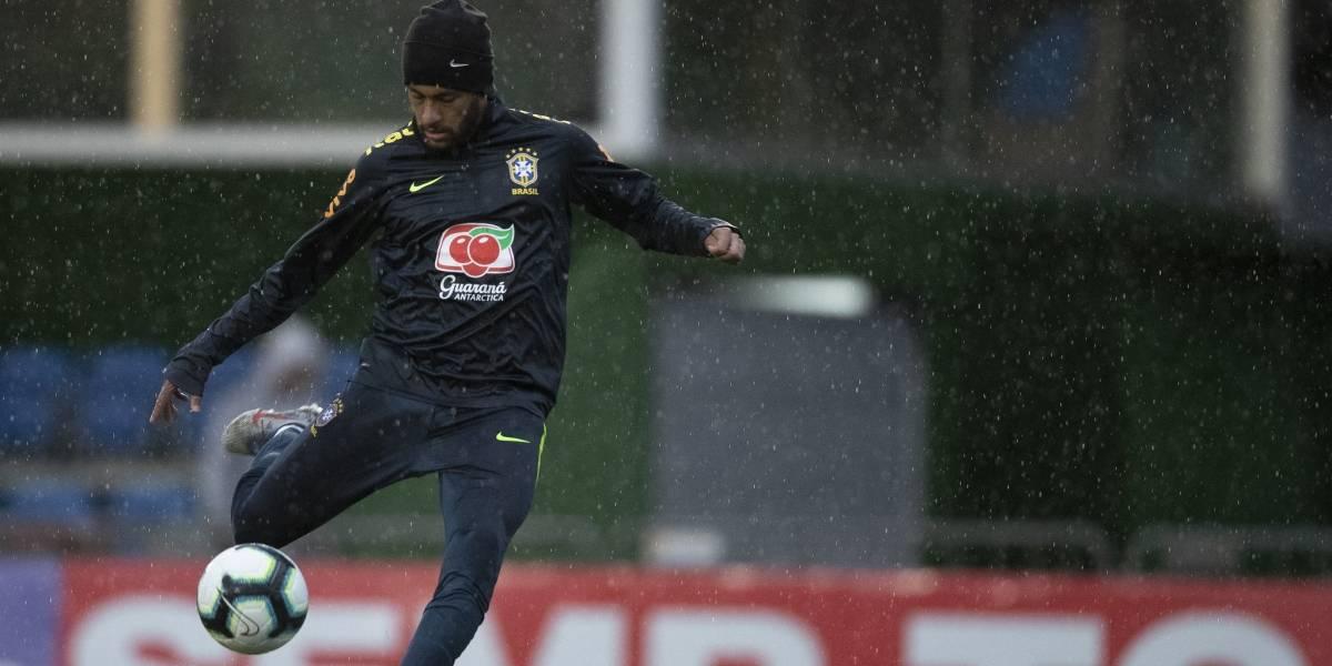 Presidente da CBF descarta possibilidade de corte de Neymar para Copa América