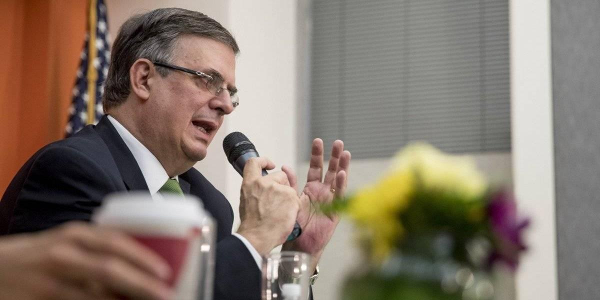 Ebrard prevé 80% de éxito en reunión con EU