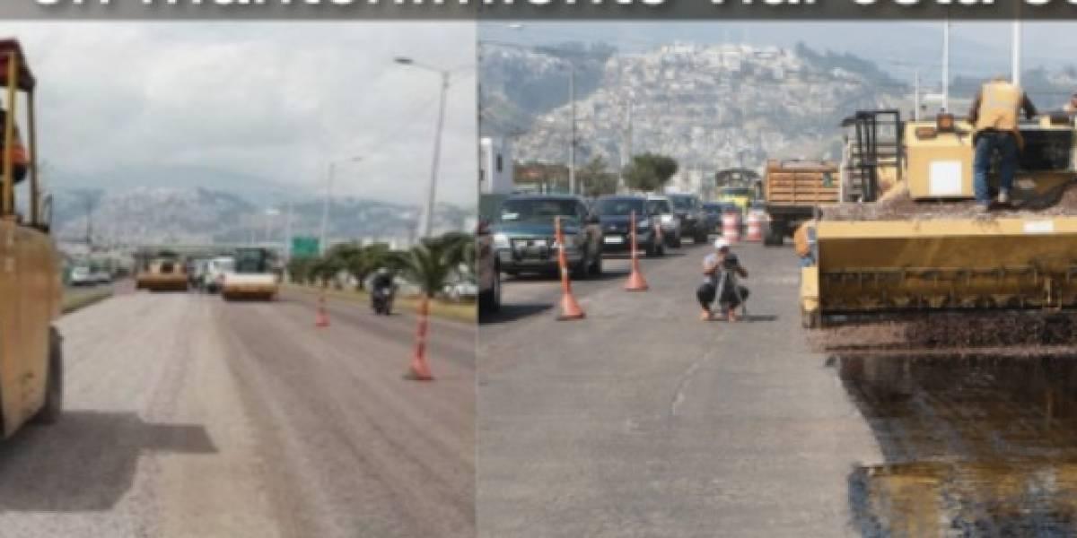 Estos son los sectores de Quito que recibirán mantenimiento vial