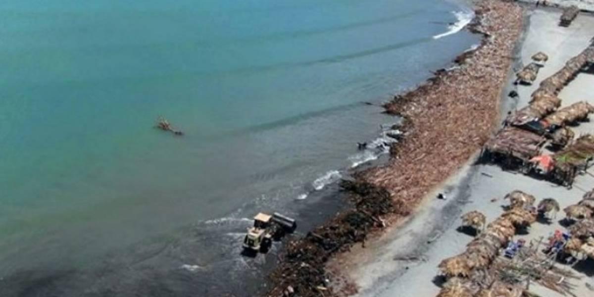 ¡Qué triste! La abrumadora cantidad de basura abandonada en mar colombiano