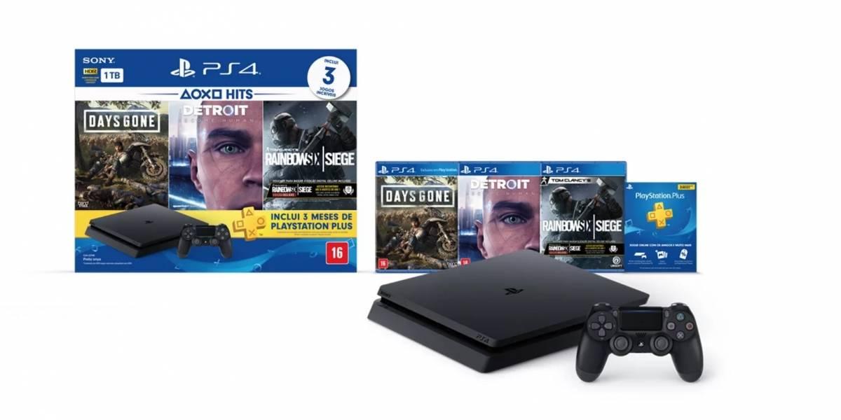 Detalhes do novo bundle de PlayStation que já está  disponível no Brasil
