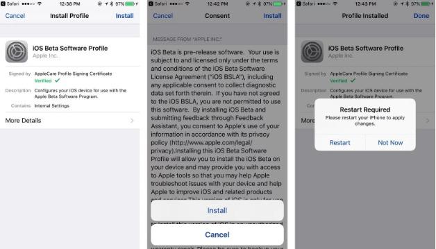 Así es como podrás instalar la primera beta de iOS 13