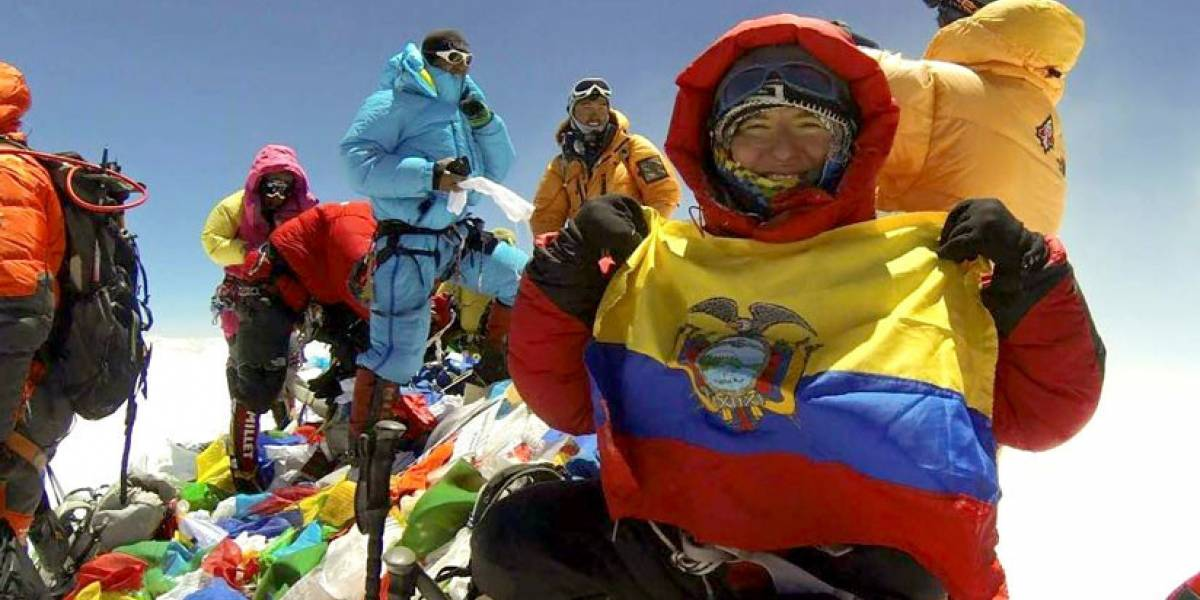 Carla Pérez, la ecuatoriana que conquistó el Everest sin oxígeno artificial