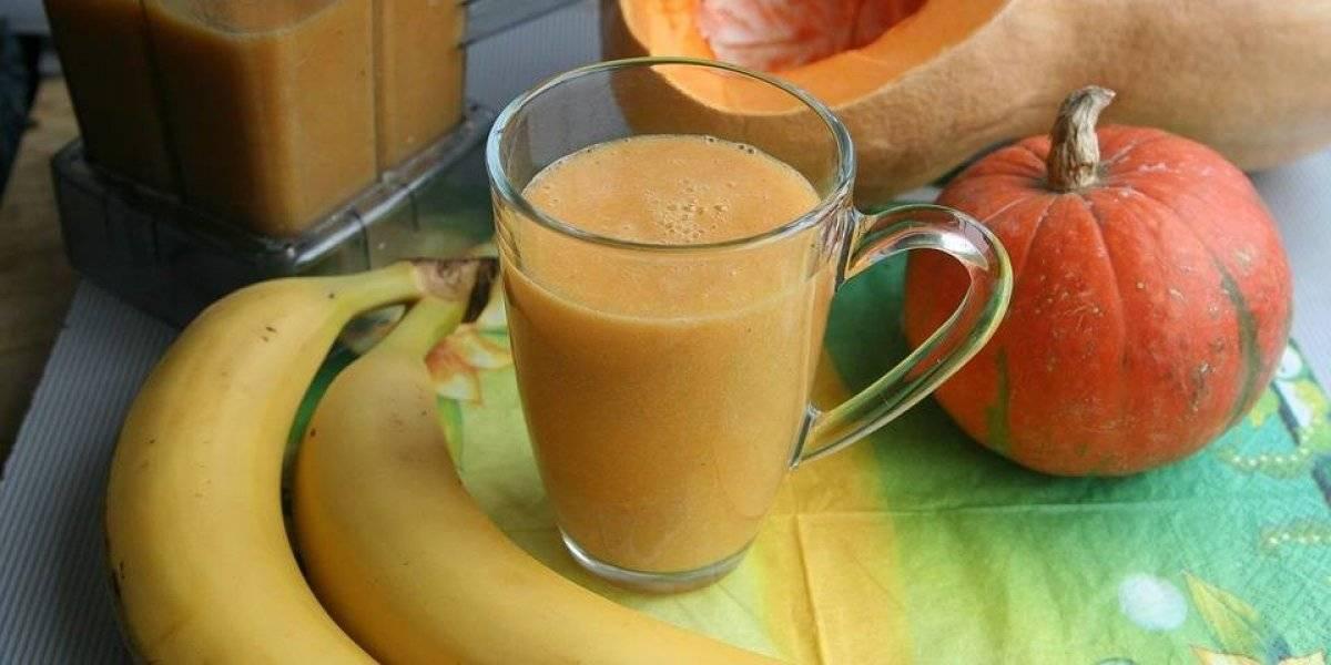Vitamina de banana com cúrcuma acelera o metabolismo e ajuda a emagrecer