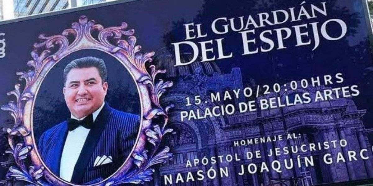 El homenaje al líder de la Luz del Mundo en Bellas Artes que reunió a la clase política mexicana