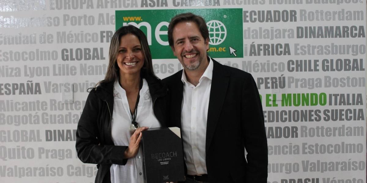 Carla Zarlenga y Alfonso Espinosa presentaron 'BE COACH'