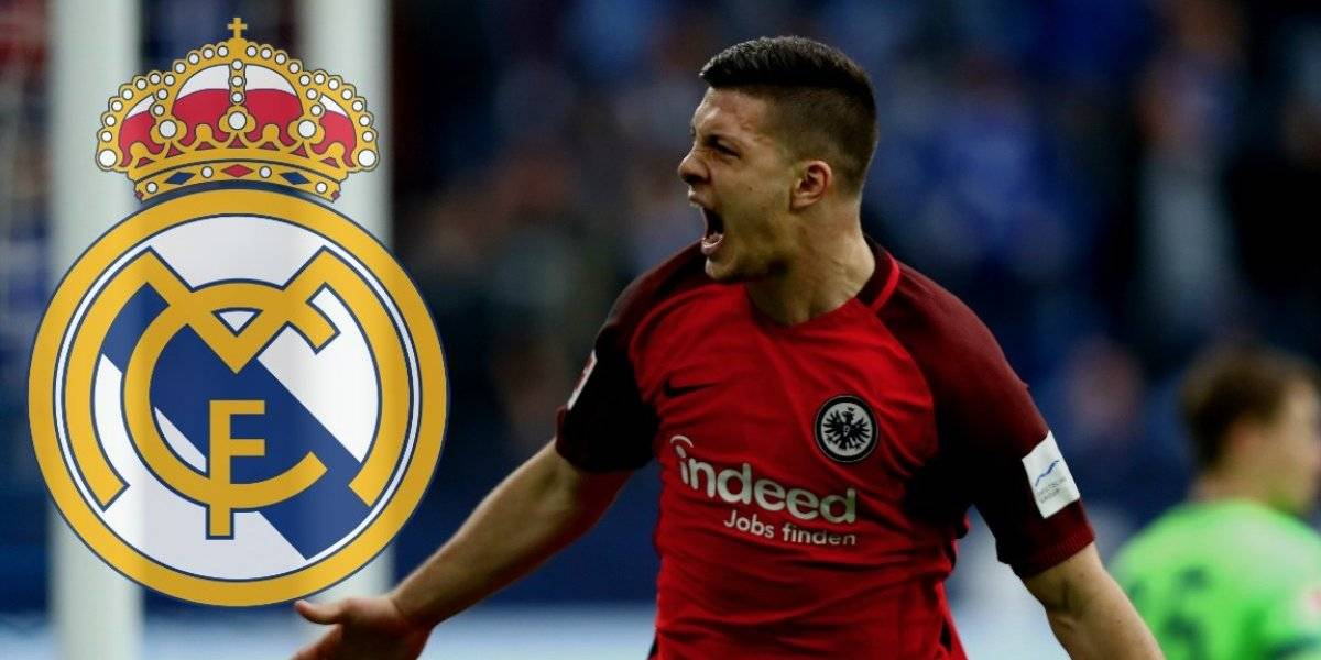 OFICIAL: Real Madrid ficha al delantero serbio Luka Jovic