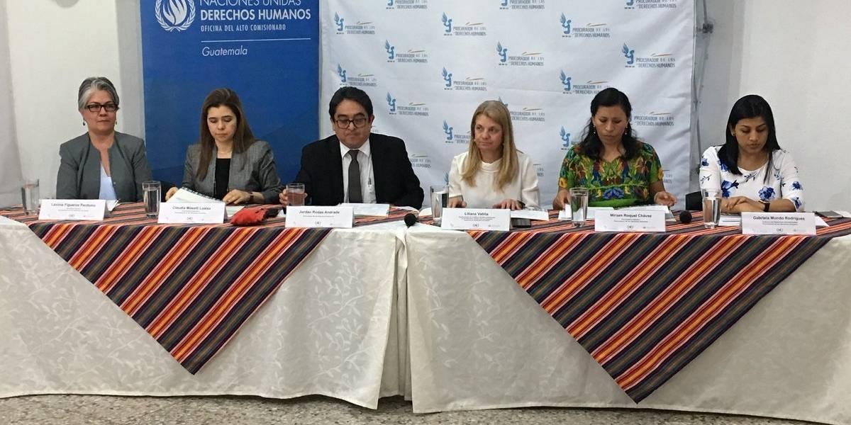 Partidos políticos asumen compromiso de proteger los derechos humanos