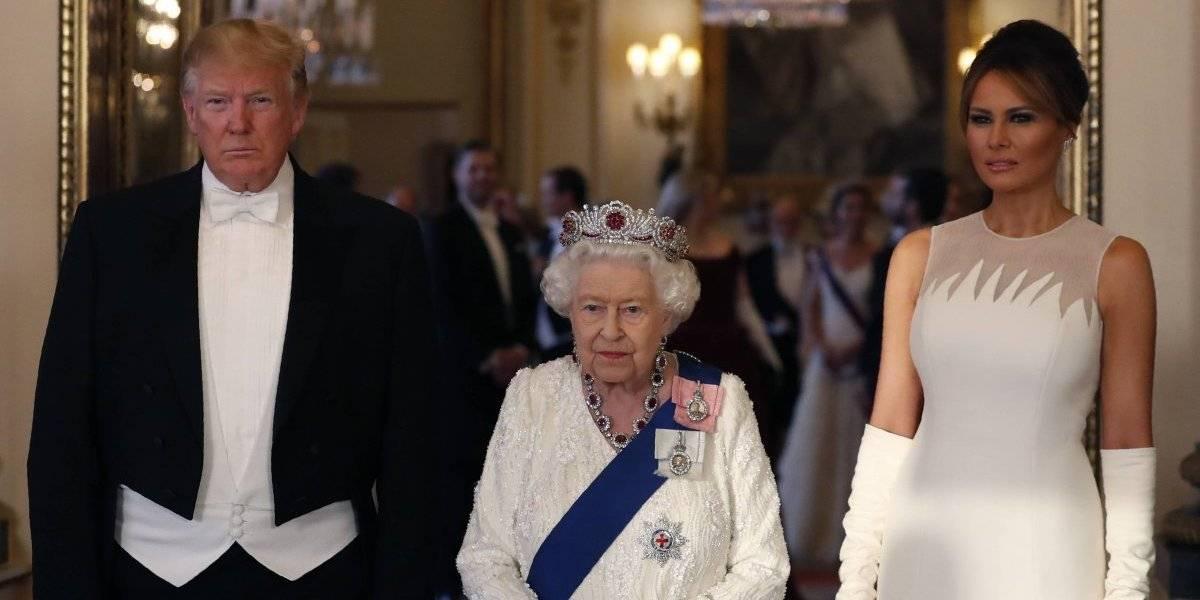 Primeras damas de EU que han pasado por el reinado de Isabel II