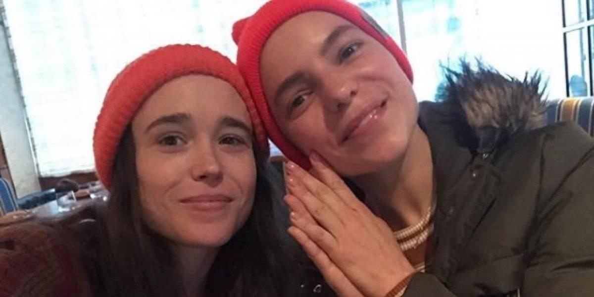 Ellen Page publica fotos en topless con su esposa por el mes del orgullo LGBT+
