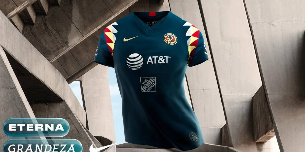 Lanza América uniforme de visitante para el Apertura 2019