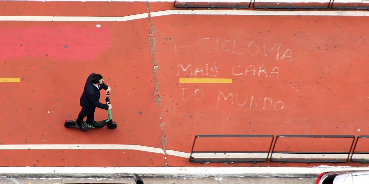Acidentes com patinete em São Paulo somam 274