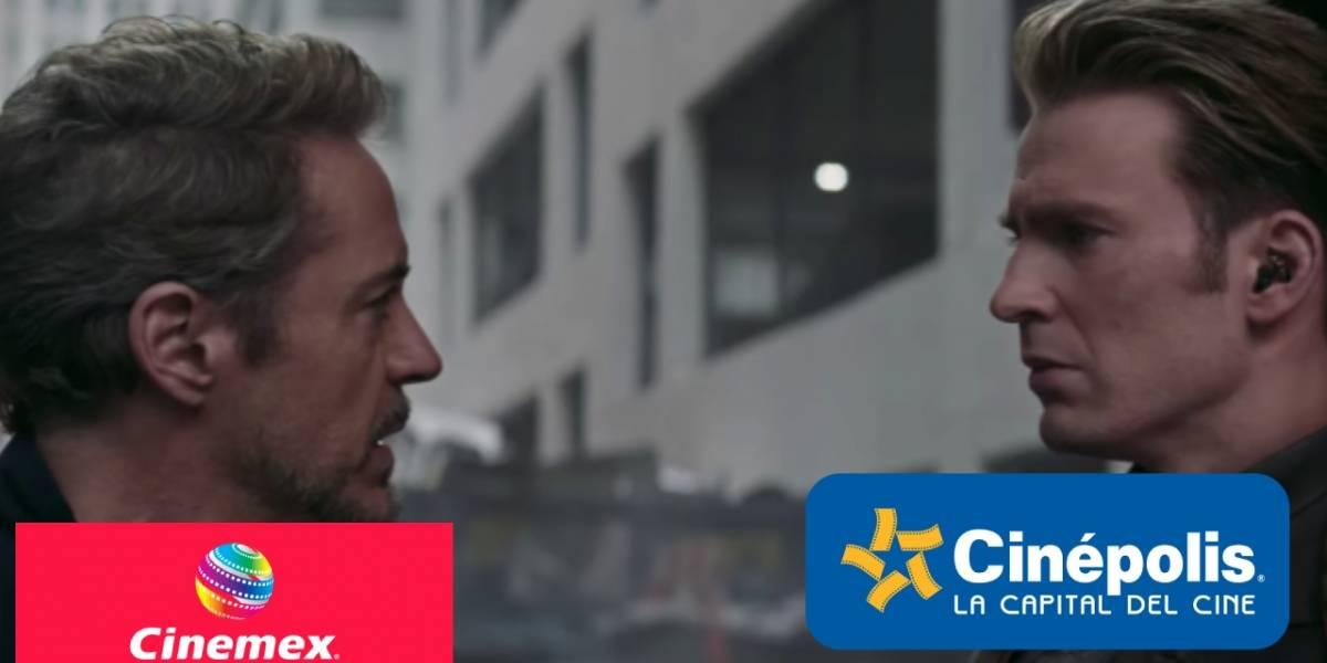 México: Cinemex y Cinépolis están proyectando Avengers: Endgame a 15 pesos por boleto