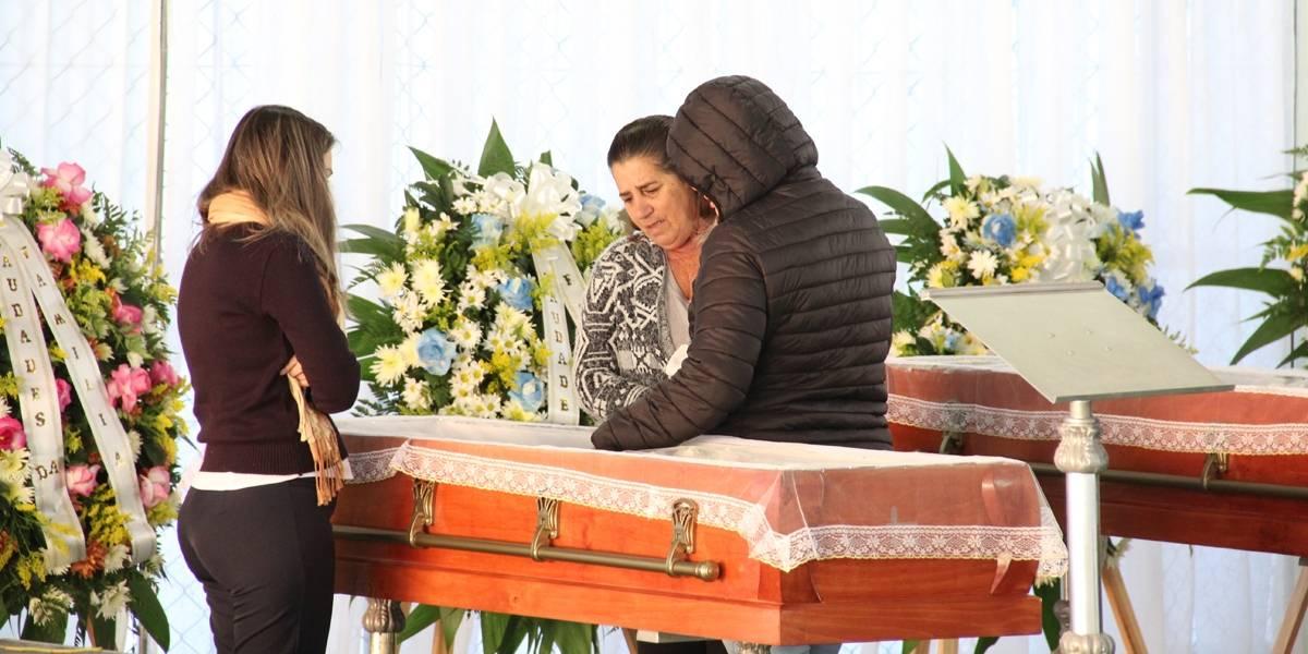 Família que morreu por intoxicação no Chile é velada em Santa Catarina