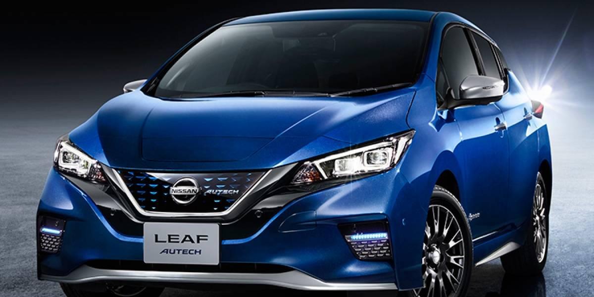 Nissan anuncia la salida de una nueva versión del Leaf en Japón
