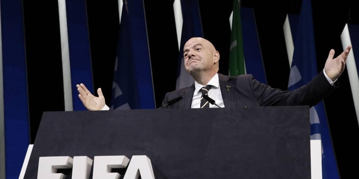 Gianni Infantino fue reelegido como presidente de la FIFA hasta 2023