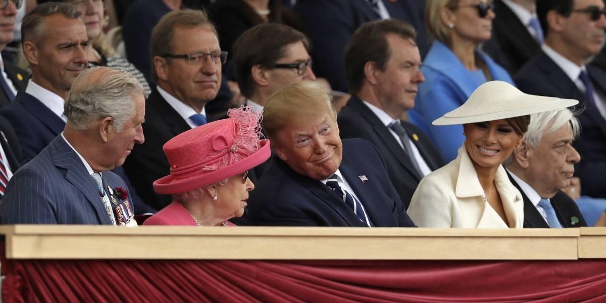 """Trump asiste a ceremonia por 75 aniversario del """"Día D"""""""