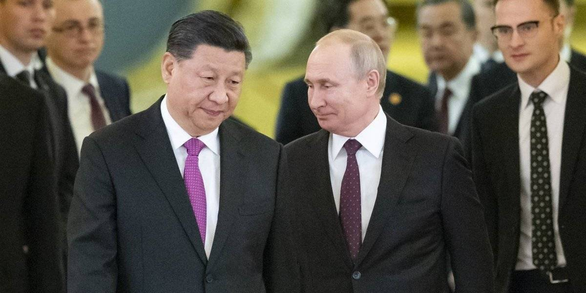 Más amigos que nunca: Vladimir Putin y Xi Jinping se juntan a criticar a EEUU en reunión bilateral