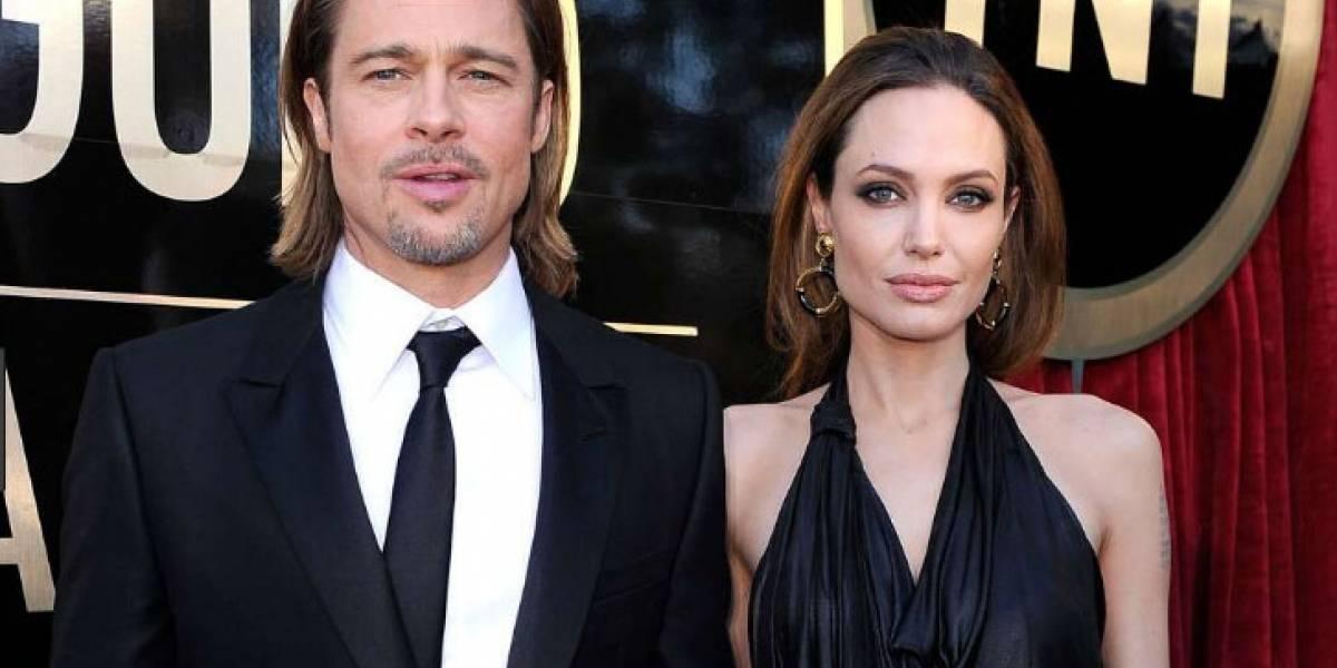 Así es la complicada relación actual entre Brad Pitt y Angelina Jolie