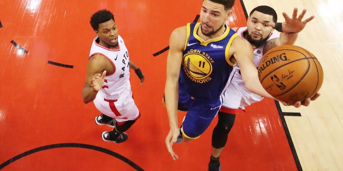 ¡Cambio de casa! Warriors y Raptors se ven las caras en el tercer round de la final de la NBA