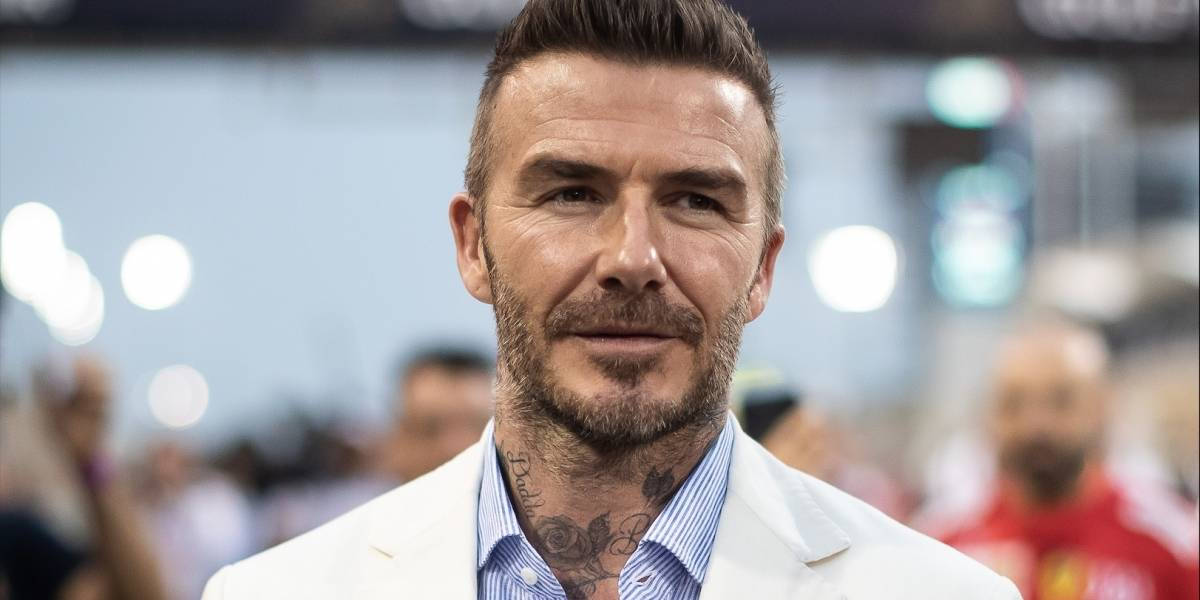 David Beckham llegó a Bogotá para promocionar una marca de whisky
