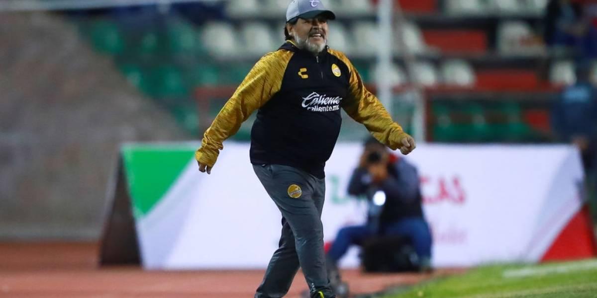 """Maradona se agrandó: """"Si Manchester United necesita entrenador, yo soy el hombre indicado"""""""