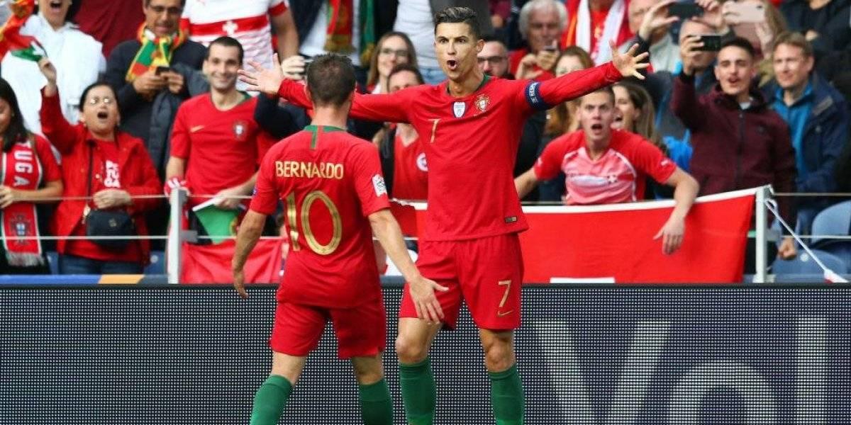 """""""Tri-stiano"""" Ronaldo frotó la lámpara de genialidades y metió a Portugal en la final de la Nations League"""