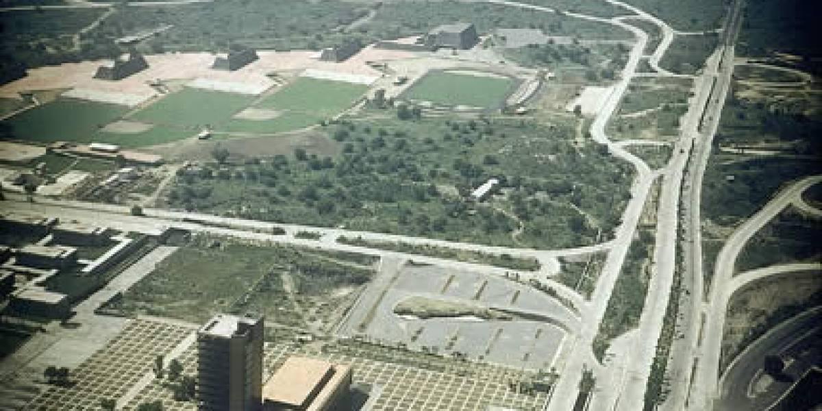 Así inició la construcción de Ciudad Universitaria hace 69 años